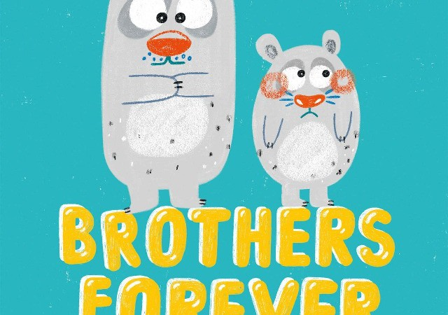 Brothers Forever_繪本封面